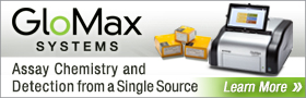 GloMax Systems Assay Chemistry and Detection from a Single Source