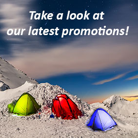 Take a look at our latest promotions!