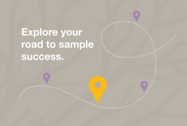 Explore your road to sample success