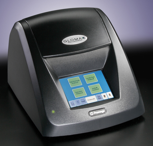 GloMax 20/20 Luminometer.