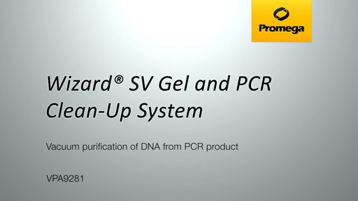 Wizard SV Gel and PCR Clean Up System PCR Vacuum